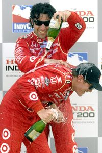 Dario Franchitti and Scott Dixon