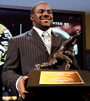 Mark Ingram and his Heisman