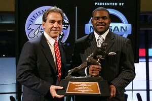 Mark Ingram and Nick Saban