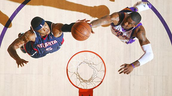 Josh Smith and Amare Stoudemire