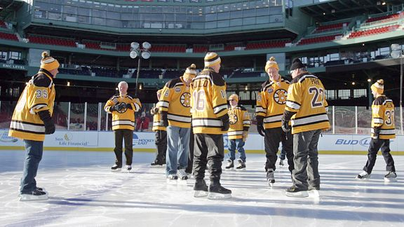 Skate at Fenway
