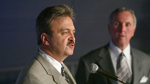 Ned Colletti and Frank McCourt