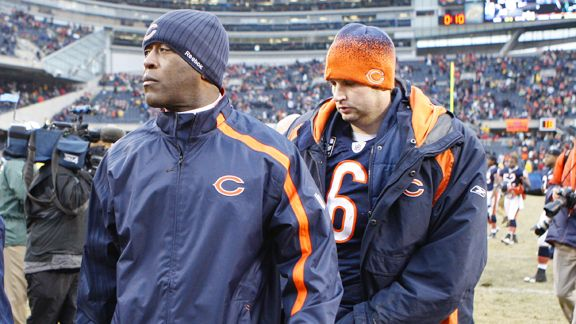 Lovie Smith, Jay Cutler