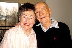 Ernie Harwell & wife Lulu