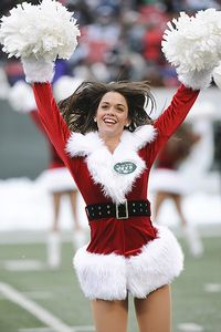 New York Jets cheerleader