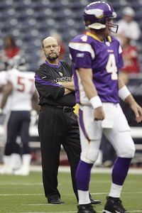 Brad Childress and Brett Favre