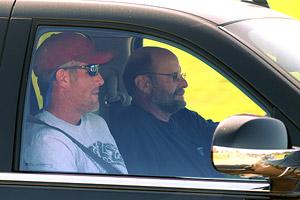 Brett Favre and Brad Childress