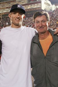 Trevor Gretzky and Wayne Gretzky