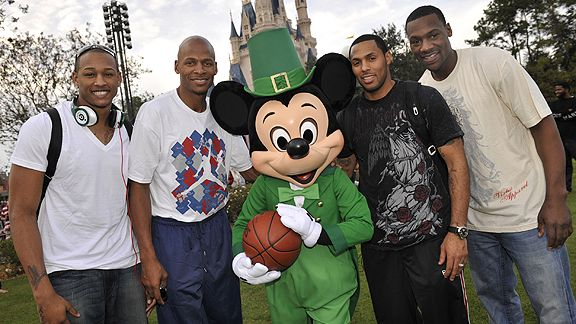 ray allen house. Ray Allen, Eddie House and