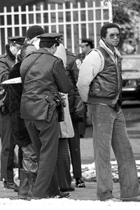 Arthur Ashe was arrested for the first time in 1985 for protesting outside the South African embassy.