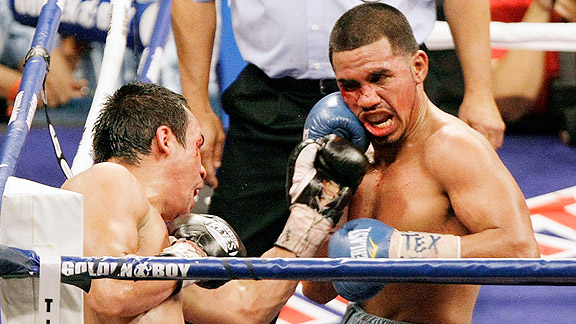 Juan Manuel Marquez and Juan Diaz