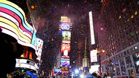 New Years Eve Time Sqaure