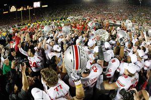 Ohio State celebrating