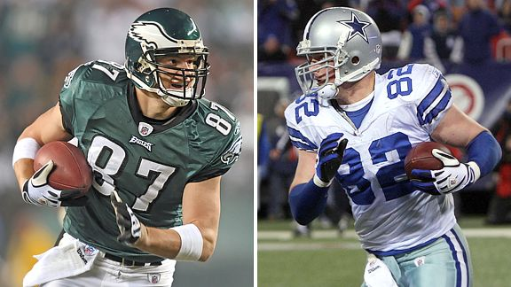 Brent Celek and Jason Witten