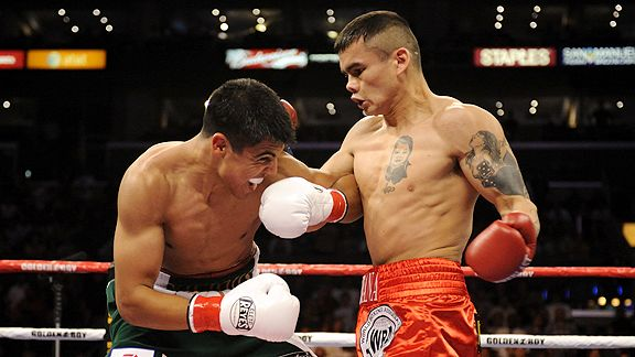 Victor Ortiz and Marcos Maidana