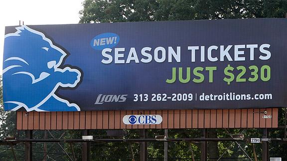 Detroit Lions Billboard