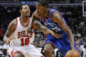 James Johnson, Kevin Durant