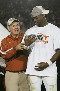 Mack Brown & Vince Young