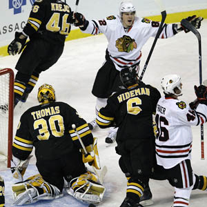 Chicago Blackhawks and  Boston Bruins