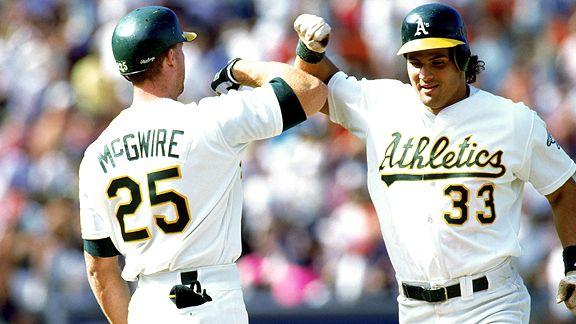 Jose Canseco & Mark McGwire