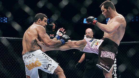 Vitor Belfort vs Rich Franklin