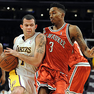 Jordan Farmar, Brandon Jennings