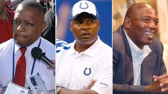 Rod Graves, Jim Caldwell, Ozzie Newsome