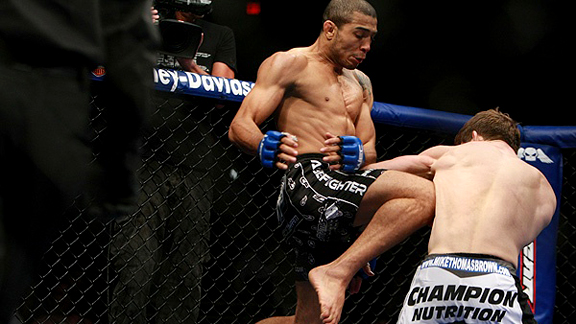 Jose Aldo vs. Mike Thomas Brown