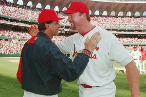 Tony La Russa and Mark McGwire