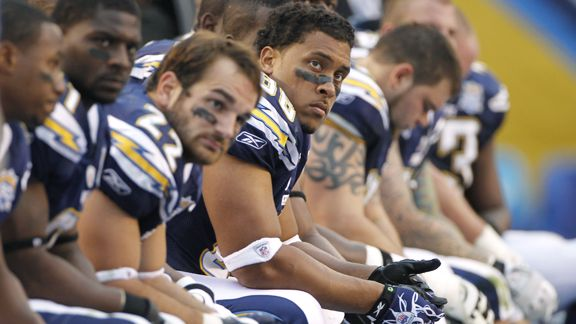 Chargers Dejection