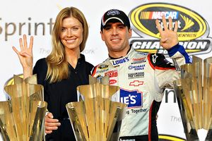 Chandra Johnson and Jimmie Johnson