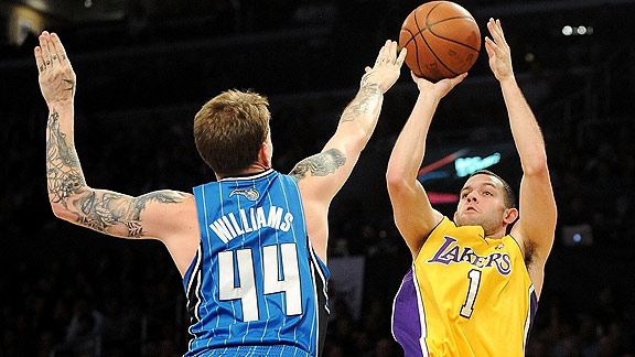 Jason Williams of the Orlando Magic