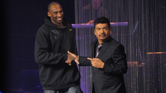 Kobe Bryant, George Lopez