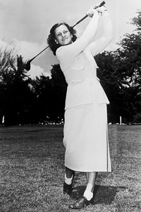 Mildred 'Babe' Didrikson Zaharias