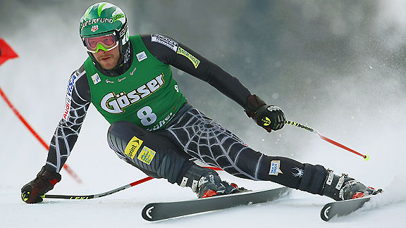 Bode Miller, doing his thing
