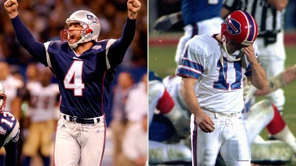 Adam Vinatieri, Scott Norwood