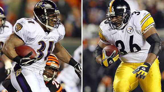 Jamal Lewis/Jerome Bettis