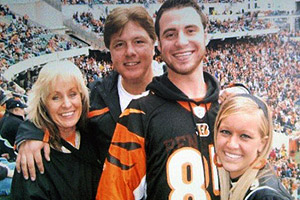 Chris, Sherry and John Kernich and Katie Fussner