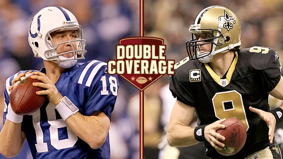 Peyton Manning and Drew Brees 