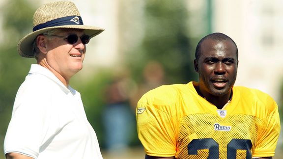Mike Martz, Marshall Faulk