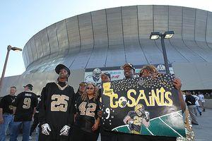Saints fans