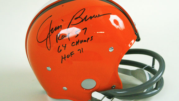 Jim Brown helmet