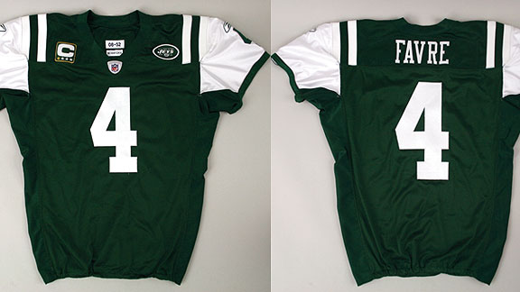Brett Favre New York Jets jersey