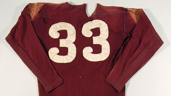 Sammy Baugh Washington Redskins game-worn jersey