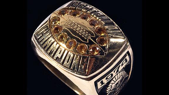 WFL Memphis Southmen ring