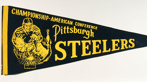 Pittsburgh Steelers pennant
