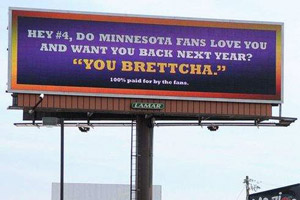 Favre Billboard