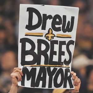 Drew Brees sign