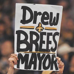 Drew Brees sign