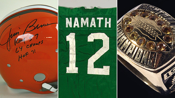 Some prized football memorablia was up for auction. - ESPN 7eed728f6